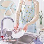 牛津布防潑水圍裙 家用廚房做飯防油防臟罩衣成人女士圍腰 全店88折特惠