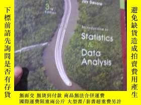 二手書博民逛書店Introduction罕見to Statistics and
