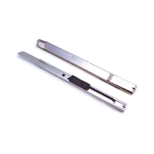 [奇奇文具]【力大 ABEL 美工刀】66014 不鏽鋼小美工刀/小刀