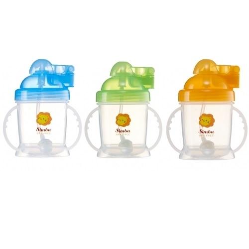 小獅王辛巴 simba 自動吸管練習杯180ml(隨機出貨)S9924[衛立兒生活館]