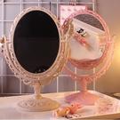 限定款化妝鏡棟哈少女心公主化妝鏡心形鏡子...