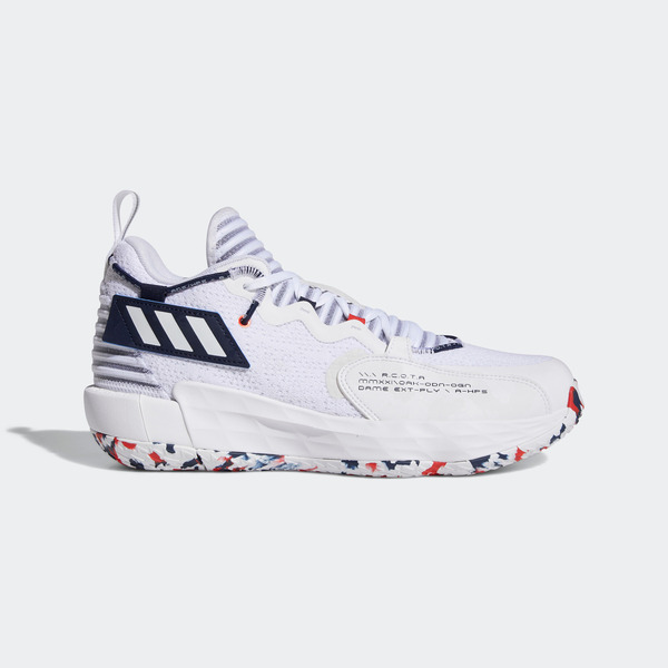 Adidas Dame 7 Extply GCA [GW2946] 男鞋 籃球鞋 明星款 里拉德 聯名 愛迪達 白