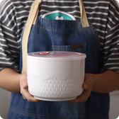 浮雕大容量陶瓷儲物罐保鮮碗飯盒 罐蓋子大號保鮮·樂享生活館