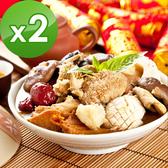 三低素食年菜 樂活e棧 金喜吉祥-什錦總匯2盒(800g/盒)-蛋素