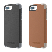 【唐吉】Griffin Survivor Prime iPhone 8/7/6s/6 plus 5.5 吋, 真皮防摔保護套