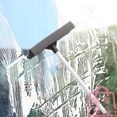 擦玻璃家用玻璃刮工具可伸縮桿搽窗刮水器【匯美優品】