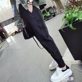 運動褲女春2019新款韓版學生寬鬆顯瘦原宿bf褲子ulzzang哈倫褲『潮流世家』