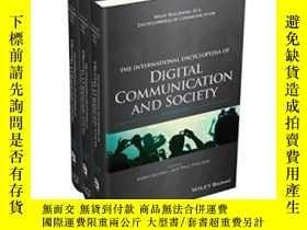 二手書博民逛書店The罕見International Encyclopedia Of Digital Communication
