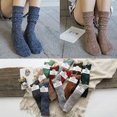 堆堆襪襪子女中筒襪女士秋冬加厚女襪秋冬款百搭
