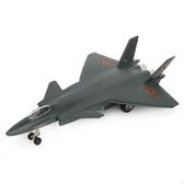 玩具飛機模型兒童玩具飛機殲20戰斗機飛機模型殲二十合金飛機回力聲光