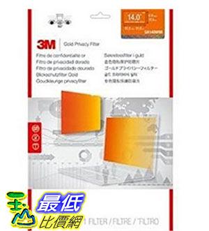 [美國直購] 3M GH140W9B 金色 螢幕防窺片 Privacy Screen Protectors for 14 Widescreen,310 mm x 175 mm