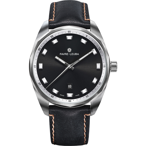 Favre-Leuba 域峰 SKY CHIEF DATE都會紳士機械手錶-43mm 00.10201.08.11.41