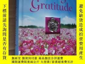 二手書博民逛書店精裝罕見每日的感激之情 Daily Gratitude 封面鑲金