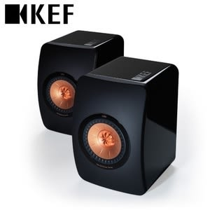 KEF LS50 最新旗艦款揚聲器 (鋼琴黑)