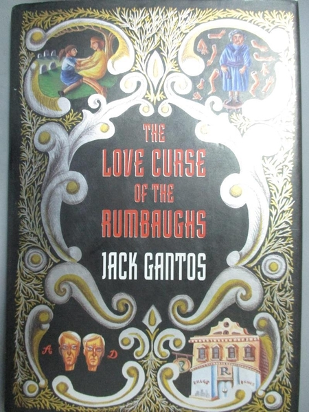 【書寶二手書T2/少年童書_HPN】The Love Curse of the Rumbaughs_Gantos, Ja