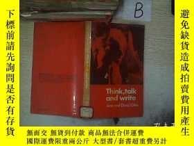 二手書博民逛書店Think罕見talk and write 想說話寫 A02Y261116