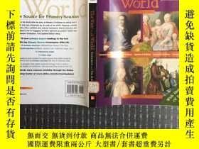 二手書博民逛書店The罕見West In The World: A Mid-le