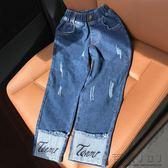 『618好康又一發』女童牛仔褲休閒長褲子