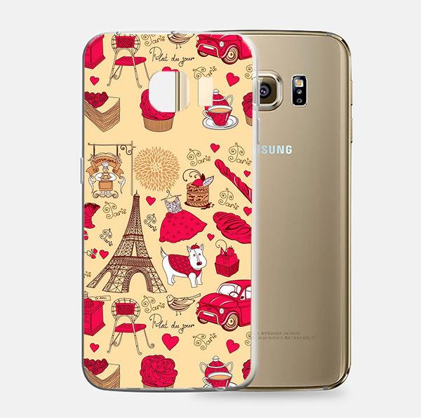 ♥ 俏魔女美人館 ♥Samsung Galaxy S7 {可愛鐵塔*立體浮雕軟殼} 手機殼 手機套 保護殼