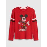 Gap男童GapxDisney迪士尼系列圓領套頭長袖T恤525091-亮紅色