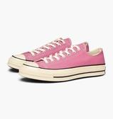 CONVERSE-70 休閒帆布鞋 粉-NO.164952C