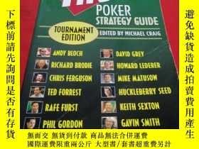 二手書博民逛書店he罕見Full Tilt Poker Strategy Guide Tournament Edition 英文原