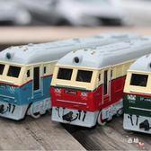 火車頭模型合金仿真蒸汽內燃機車綠皮火車合金汽車模型玩具回力車XW 萊爾富免運