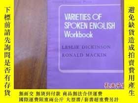 二手書博民逛書店《varieties罕見of spoken english wo
