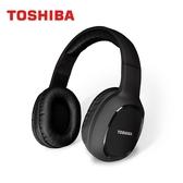 TOSHIBA 頭戴式藍牙耳機 輕量耳罩式藍芽耳麥RZE-BT160H(K)