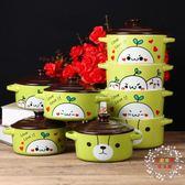 大號泡面碗帶蓋陶瓷日式可愛雙耳大呎碼家用湯碗蒸蛋微波爐速食麵碗全館免運