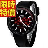 運動手錶-防水潮流戶外電子錶7色61ab6[時尚巴黎]