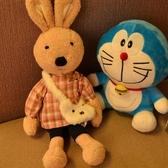 可愛蘇克雷兔公仔毛絨玩具復古小兔子玩偶大號布娃娃兒童生日禮物【免運】