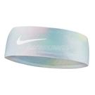 Nike 頭帶 Dri-FIT Fury Headband 3.0 彩 白 籃球 跑步 頭巾 寬版 髮帶【ACS】 N100361993-6OS