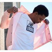 New Balance 粉色 經典LOGO 教練外套 風衣外套 夾克 外套 AMJ81590HPI