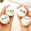 【99免運】超萌顏文字背包掛飾超好捏手機鏈(任選2入)