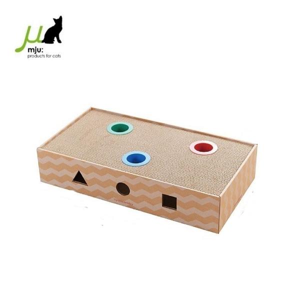 *KING*日本Gari Gari Wall(MJU)方形貓抓板玩具 (AIM-CAT015-1)