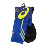 Asics Socks [Z32008-45] 中統襪 球類 運動 足弓緊束 腳底加厚 耐磨 透氣 藍黑