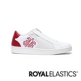 ROYAL ELASTICS Adelaide 白紅真皮時尚休閒鞋 (男) 02694-001