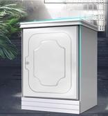 保險櫃 歐奈斯保險櫃家用指紋密碼55cm保險箱隱形小型入墻木制床頭櫃高床邊 萬聖節狂歡 JD