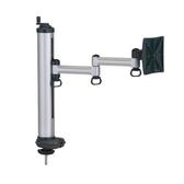 [富廉網] FOGIM TKLA-1022-S-A  穿桌旋轉式液晶螢幕支架(單螢幕)