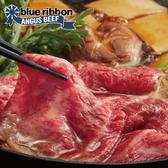 【超值免運】美國藍帶雪花牛火鍋肉片2盒組(200公克/1盒)