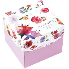 《荷包袋》英式點心盒-大幸福蒔花 10入/包