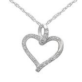 項鍊 925純銀鑲鑽吊墜-簡約大方生日情人節禮物女飾品73dk156【時尚巴黎】
