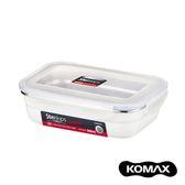 韓國KOMAX Stenkips不鏽鋼長型保鮮盒560ml(白色)560ml