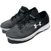 Under Armour UA 慢跑鞋 Speedform Velociti 灰 綠 白底 運動鞋 女鞋【PUMP306】 1285496076