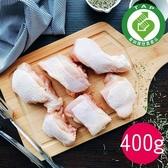 (產銷履歷)十八養場-紅玉雞帶骨雞腿切塊(400g)