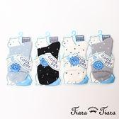【Tiara Tiara】水玉點點短襪涼感襪(白/藍/灰/黑)