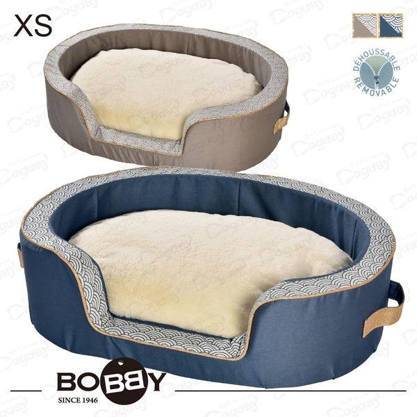 法國《BOBBY》和風睡窩 XS  全床可拆洗 挺拔外框 小狗床 睡窩 吉娃娃/玩具貴賓/約克夏