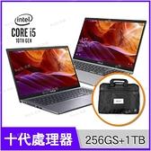 華碩 ASUS X509JB 灰/銀 256G SSD+1TB競速特仕版【送手提包/i5 1035G1/15.6吋/MX110/intel/筆電/Buy3c奇展】X509