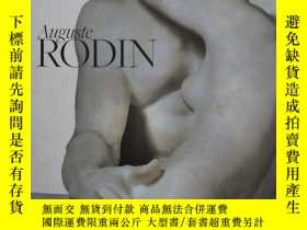 二手書博民逛書店{罕見}Auguste RODIN 羅丹雕塑繪畫 Y235312 Jane Mayo Roos PHAIDON